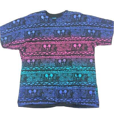 Vintage 80\u2019s Mickey Mouse Shirt Disney Wear Medium Adult