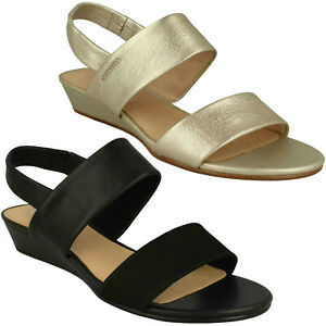 6ec9bd06e Image is loading LADIES-CLARKS-SENSE-LILY-SLINGBACK-PARTY-CASUAL-SUMMER-