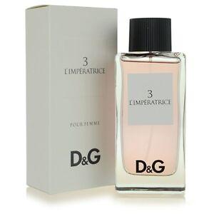c227550618cb1 D G  3 L Imperatrice Dolce Gabbana Women 3.3 oz 100 ml Eau De ...