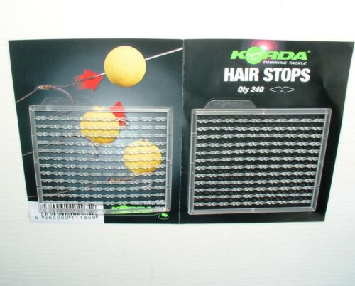 Korda Boilie Stopper clear Hair Stops KHBS Boiliestopper Boilie Stops