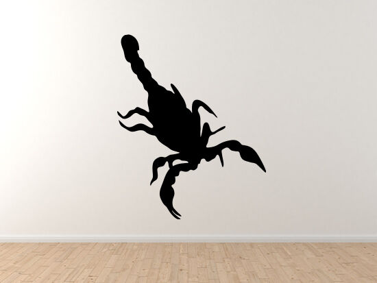 Insect Arachnid- Scorpion Venom Sting Scorpio Symbol - Vinyl Wall Decal