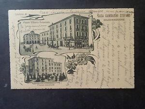 CARTOLINA-PARMA-SALSOMAGGIORE-PIAZZA-VITT-EMANUELE-NON-VIAGGIATA-1926-SUBALPINA