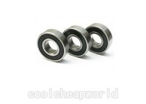 30pcs-6801-2RS-6801RS-6801-2RS-12x21x5mm-Rubber-Sealed-Deep-Groove-Ball-Bearing
