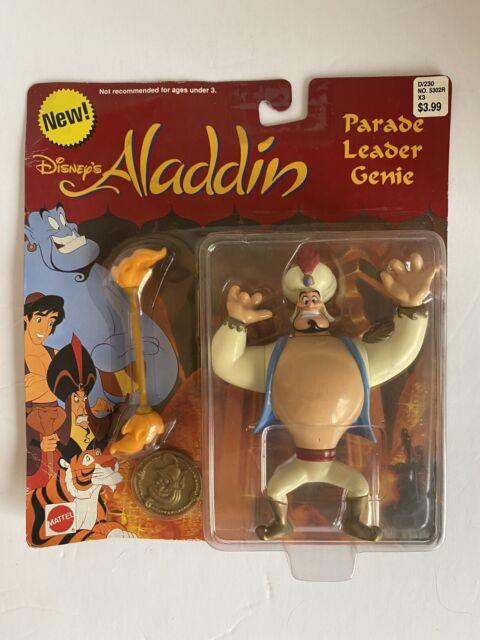 Disney Aladdin Parade Leader Genie Mattel Toy Action Figure Vintage