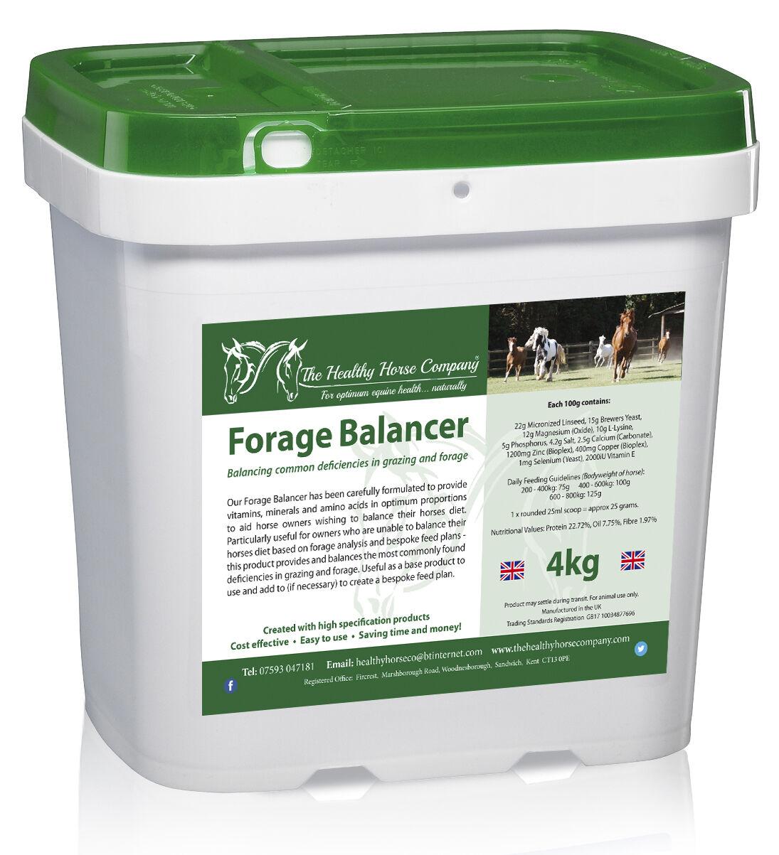Forage Balancer 4kg Tub (Good Health, Mineral Balancing)