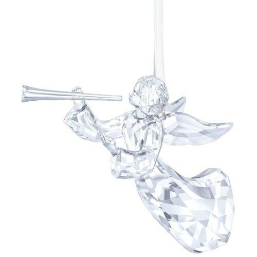 NEW 2016 SWAROVSKI ANNUAL ANGEL ORNAMENT BNIB #5215541 CHRISTMAS LTD ED HORN F//S