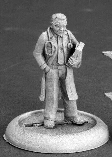 Reaper Miniatures Dr Thomas Welby #50257 Chronoscope Metal D/&D RPG Mini Figure