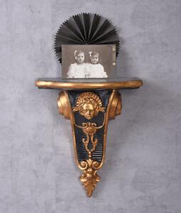 Wandkonsole Antik Ablage Regal Barockkonsole Gold Konsole Rokoko Hängekonsole Kleinmöbel & Raumaccessoires Mobiliar & Interieur