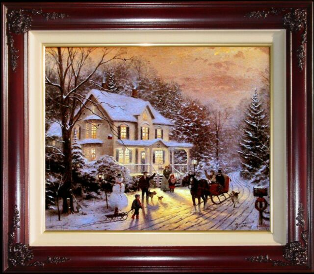 Thomas Kinkade Home for the Holidays 20