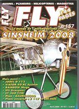 FLY N°157 PLAN : F117 - MICRO BI-ELEC - AZUREA 3300 / VIATOR 40 RC /GRAUPNER IFS