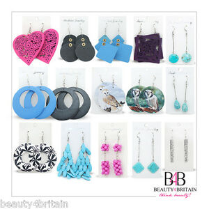 144-PAIRS-x-Mixed-Earrings-Assorted-Designs-amp-Colours-WHOLESALE-FROM-UK