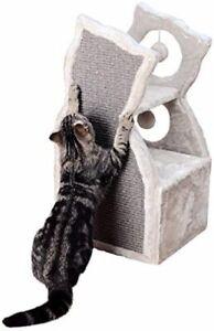 Trixie-Nelia-Cat-Tower-Light-Grey-61-cm-Cat-Shaped-With-Sisal