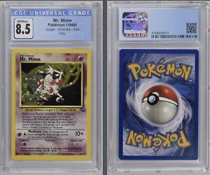 Pokémon Mr. Mime Holo 6/64 CGC 8.5 NM/Mint+ 1999 Jungle Unlimited