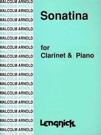 Raisonnable Arnold Sonatina Clarinette *-afficher Le Titre D'origine