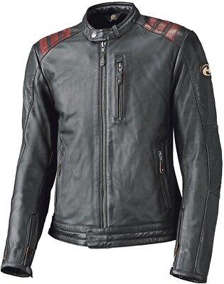 Held Lax Lederjacke Gr. 48 Schwarz, Herren Motorrad Leder