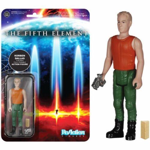 Figurine ReAction Le cinquième élément Corben Dallas