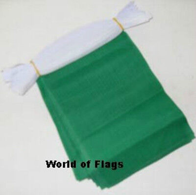 PURPLE BUNTING 9m 30 Plain Polyester Fabric Flag Party Flags 9 Metres