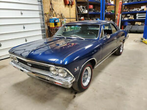 1966 Chevelle SS 396 375HP 4 SPD REAL DEAL BEAUTIFUL TURN KEY