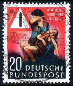 1953-Germany-Prevent-Traffic-Accidents-Fine-Used