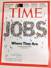 Time Magazine Where Are The Jobs March 29, 2010 050217nonrh