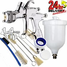 Devilbiss Flg G5 14mm Paint Spray Gun With 13 Piece Cleaning Kit