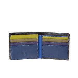 DuDu-Portafoglio-uomo-piccolo-in-pelle-Woods-Multicolore-porta-carte-di-credito