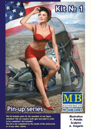 Master Box MB 124 24001 Marylin, WWII PinUp Girl No.1 I Want You for US Army