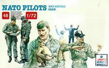 NATO i piloti e personale di terra (epoca guerra fredda-cifre 48) 1/72 ESCI ERTL RARA!