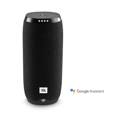 JBL Link 20 Voice-Activated Portable Bluetooth Speaker with Google Assistant