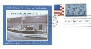 Uss-Sotoyomo-YT-9-Harbor-Tug-Pearl-1941-Relitto-Foto-Primo-Giorno-di-Problema