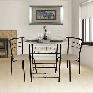Merveilleux Image Is Loading Small Kitchen Table And Chairs Round Wooden Dining