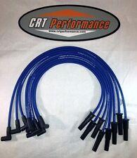 AMC/JEEP V8 290,304,343,360,390 + 401 BLUE HEI 8mm SILICONE SPARK PLUG WIRE SET