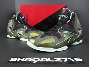 d3a3e0aff777 NIKE AIR LEBRON 11 XI KINGS PRIDE DS 616175- 700 Parachute Gold MVP ...