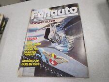 LE FAN AUTO LE FANATIQUE DE L AUTOMOBILE N° 223 mai 1987 hispano suiza *