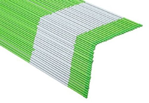50 Pack Snow Markers 60-Inch Driveway Reflectors Snow Stakes 5//16 Inch Dia Green