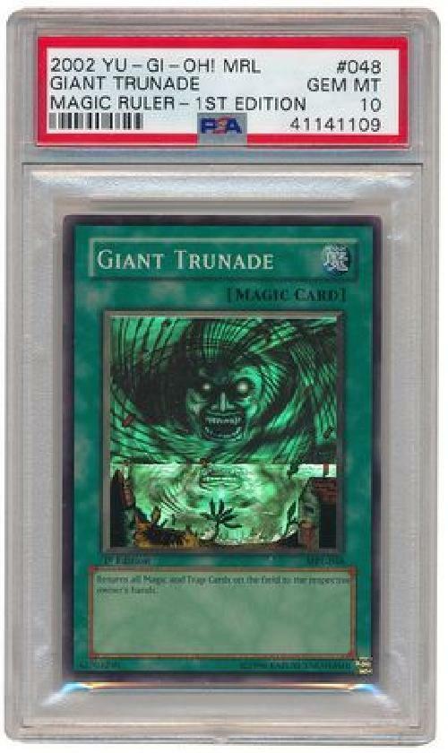 Giant TRennenade --MRL-048 --PSA Gem Mint 10 --Super Zelden 1e Yugioh Autod 3Q6