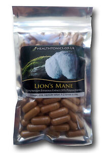 Lion-039-s-Mane-Extract-10-1-equivalent-to-4-000mg-Vegetarian-Capsules