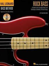Rock Bass: Hal Leonard Bass Method Stylistic Supplement Bk/Online Audio