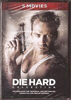 Die Hard Collection Dvd 5 Movies Bruce Willis Brand