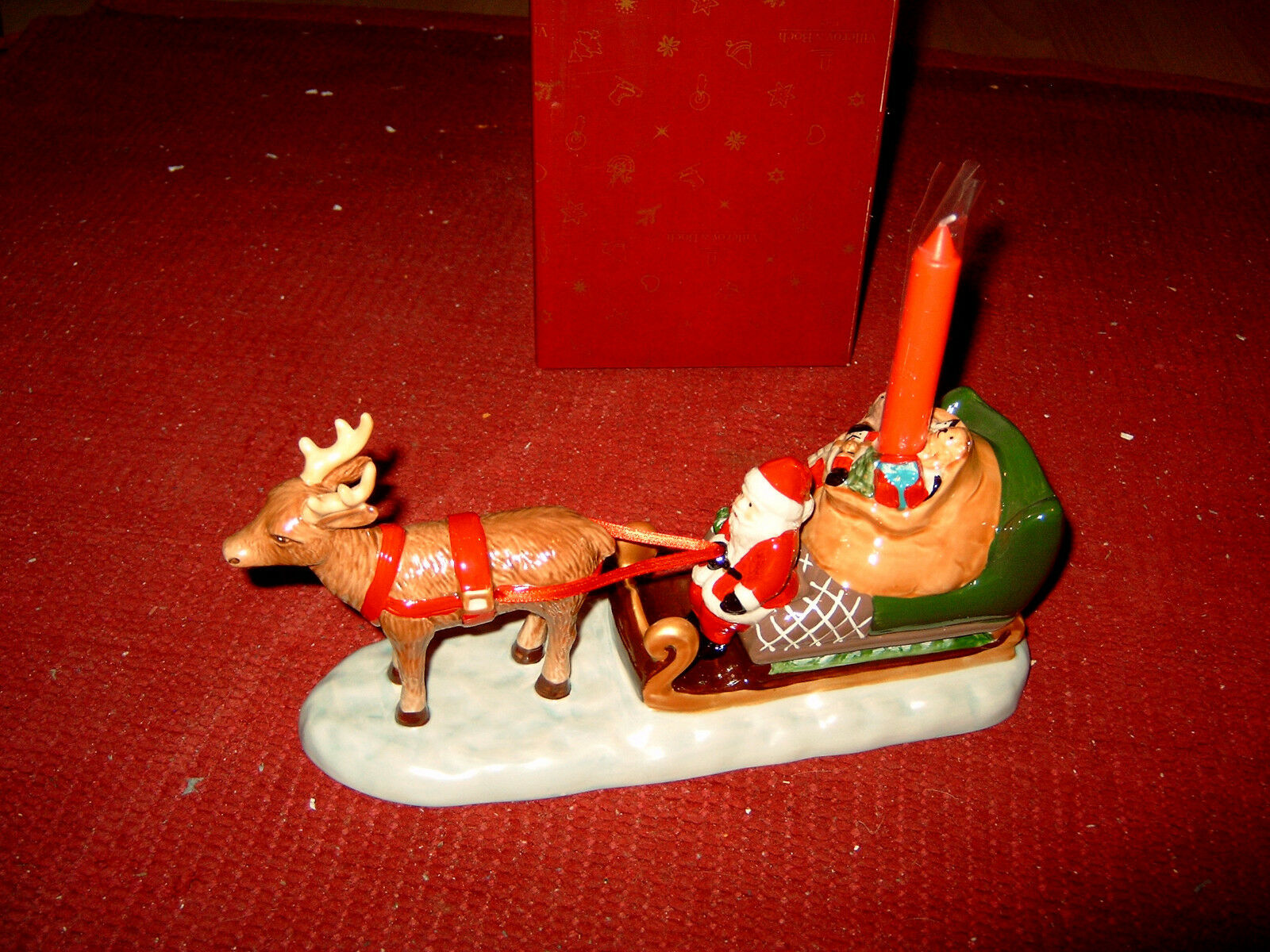 Villeroy Villeroy Villeroy & Boch North Pole Express Santas slitta 6537,neu&ovp d7583e