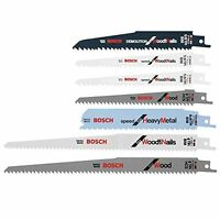 Reciprocating Saw Blade Set 7-pack Carbon And Bi-metal, New, Free Shipping on sale