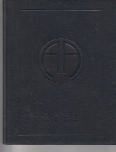 1921 ABBOTT ACADEMY ANNUAL YEARBOOK ABBOT CIRCLE ANDOVER MASSACHUSSETTS