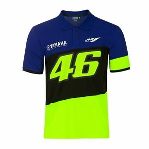 Valentino Rossi Polo Shirt Vr46 Motogp M1 Yamaha Racing Official 2020 Ebay