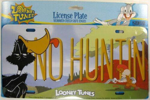DAFFY DUCK LICENSE PLATE BUGS BUNNY ELMER FUDD NEW L653