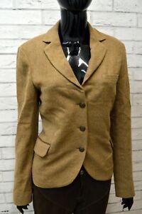 Giacca-Vintage-Donna-in-Lana-MASSIMO-DUTTI-Taglia-L-Blazer-Jacket-Woman-Italy