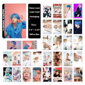 KPOP-Bangtan-Boys-Album-MAP-OF-THE-SOUL-PERSONA-V-PhotoCard-Lomo-Card