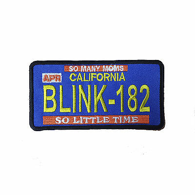 BLINK 182 Embroidered Rock Band Iron On or Sew On Patch UK SELLER Patches