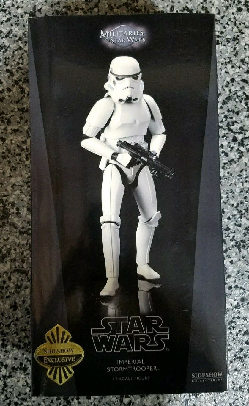 Imperial Stormtrooper STAR WARS SIDESHOW Collectibles 1 6 Scale EXCLUSIVE