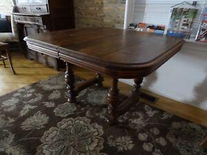 Antique Walnut Dining Table Ebay
