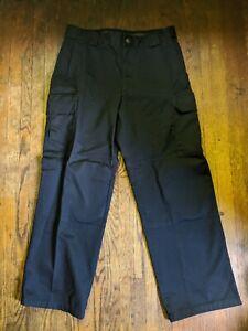 Para Hombres Pantalones Tacticos 511 Serie Pantalones Tipo Cargo De Trabajo Pesado Deber Tamano 34 X 32 Negro Ebay